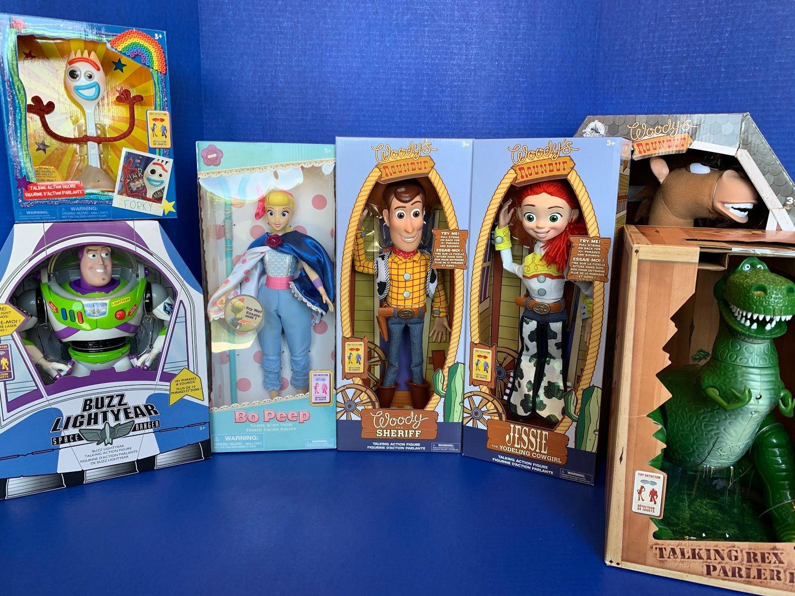 "Disney Store Toy Story 4 BUZZ LIGHTYEAR INTERACTIVE TALKING 12/"" FIG 2020 PIXAR"