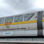 """Toy Story 4"" Monorail Debuts at Walt Disney World"