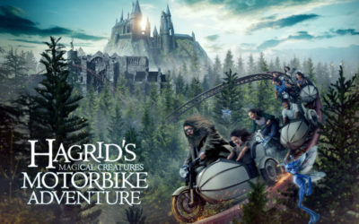 Universal Orlando to Live Stream Grand Opening of Hagrid's Magical Creatures Motorbike Adventure