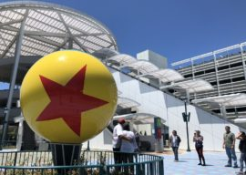 Video: New 5,000-Space Pixar Pals Parking Structure Opens at Disneyland Resort
