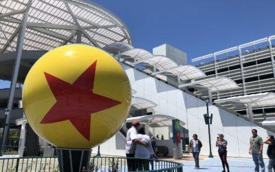 Video: New 5,000-Space Pixar Pals Parking Structure Opens at Disneyland Resort
