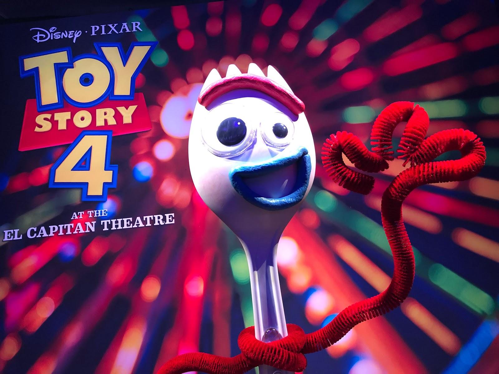 Video Pixar S Toy Story 4 Opens At El Capitan Theatre