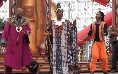 "Video: ""Tale of The Lion King"" Live Musical Show Premieres at Disney California Adventure"