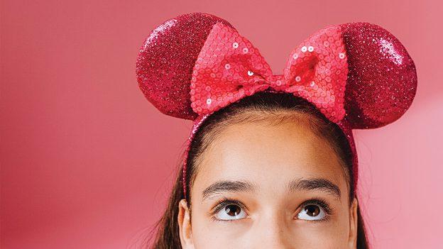 Imagination Pink Minnie Ear Headband from Disney Springs