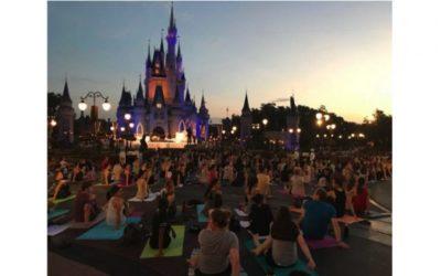 Walt Disney World to Celebrate International Yoga Day with Live Stream of Yoga Activities at Magic Kingdom