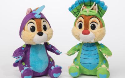 Adorable Dino-Bash Chip 'n Dale Plushes Revealed for Disney's Animal Kingdom