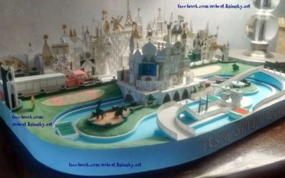 Amazing Paper Artist Constructs Replicas of Beloved Disney Attractions
