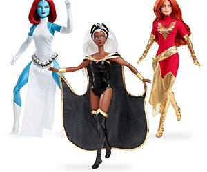 Celebrate Marvel's 80th Anniversary with Collectible X-Men Barbie Dolls