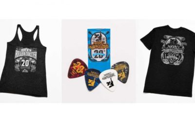 Celebrate Rock 'N' Roller Coaster's 20th Anniversary with Special Merchandise