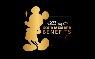 D23 Reveals Gold Member Offers and Perks for D23 Expo 2019