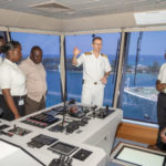 """Disney Cruise Line Celebrates """"Day of the Seafarer"""" With Students from the Bahamas Maritime Cadet Corps"""