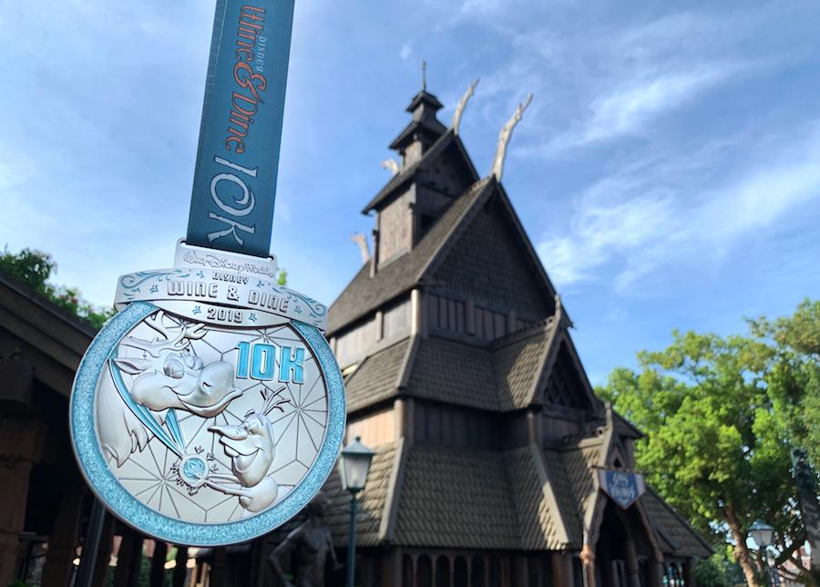 runDisney Disney Wine & Dine 10K  medal