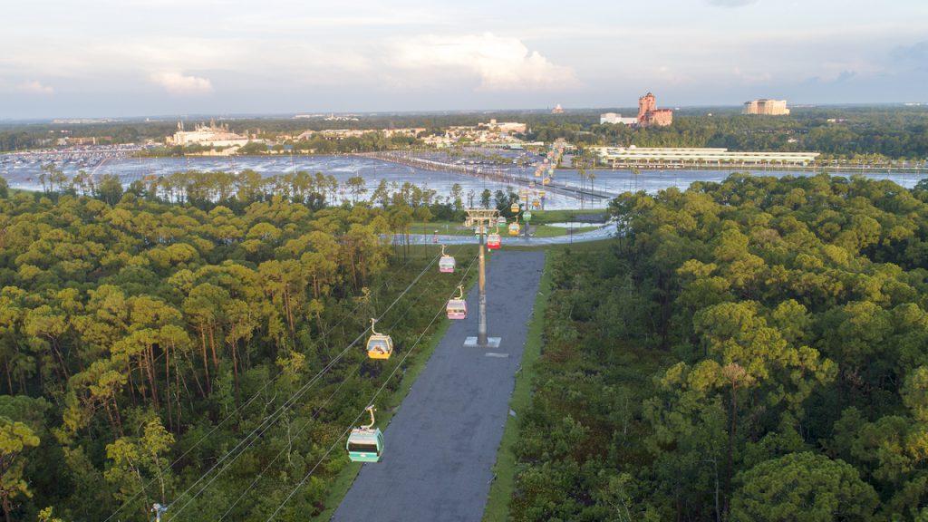 Disney Skyliner at Walt Disney World Resort