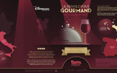 Disneyland Paris Reveals Menus for Le Rendez-vous Gourmand