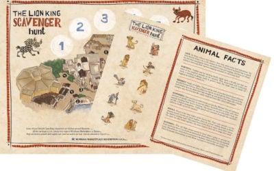 "Disney's Animal Kingdom Introduces ""The Lion King"" Scavenger Hunt"