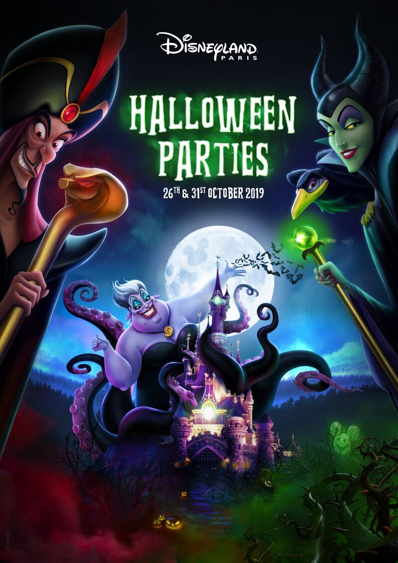 Disneyland Paris Halloween Party 2018.Halloween Parties Return To Disneyland Paris This Fall