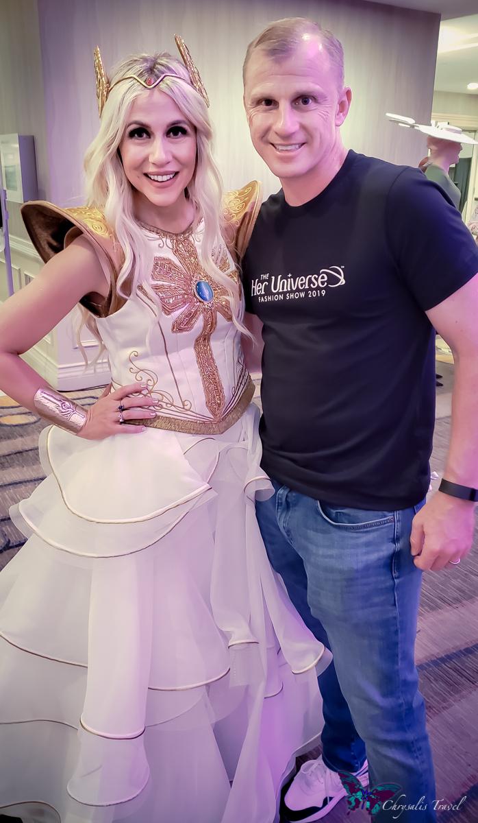Ashley and David Eckstein