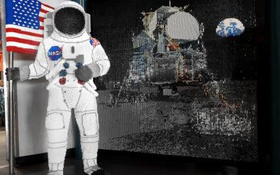 LEGOLAND Florida Commemorates Apollo 11 Landing with Life-Size Astronaut Model