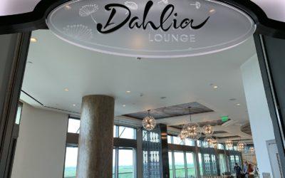 Look Around Dahlia Lounge in the Gran Destino Tower at Disney's Coronado Springs