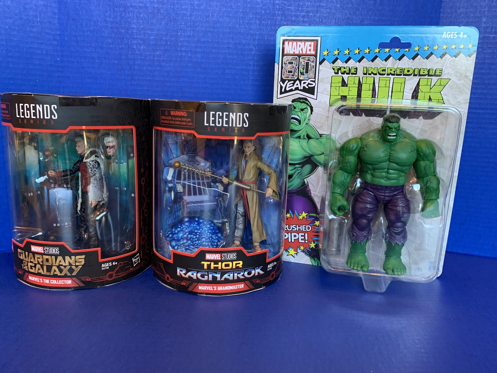 Toy Review: Marvel Legends Collector, Grandmaster, and 80th