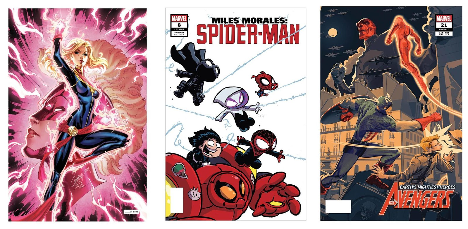 Marvel Reveals More Merchandise and Exclusives for San Diego