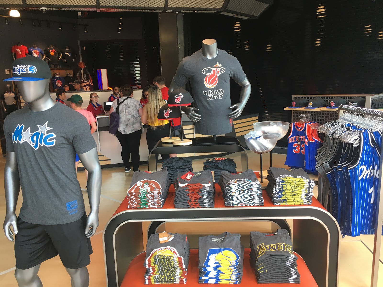 pretty nice d8a99 77a71 NBA Store Opens at Disney Springs Ahead of NBA Experience ...