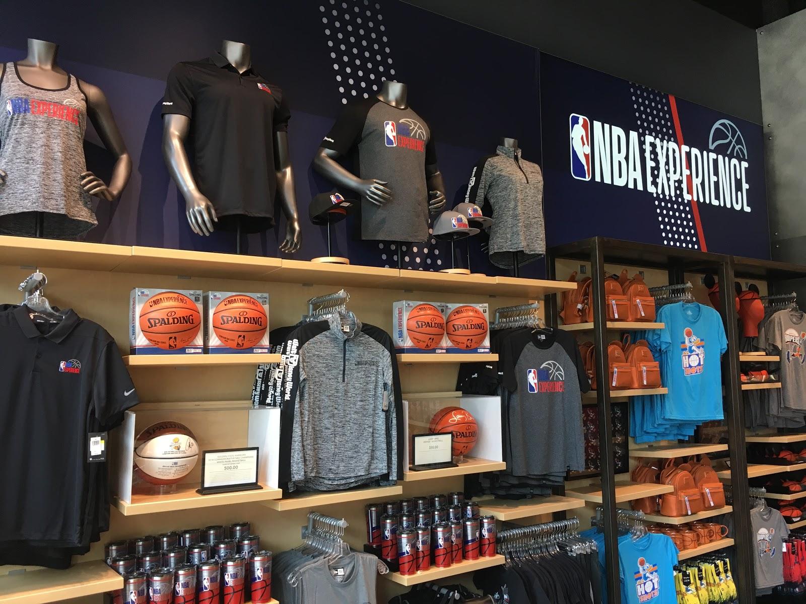 pretty nice b961f 50268 NBA Store Opens at Disney Springs Ahead of NBA Experience ...