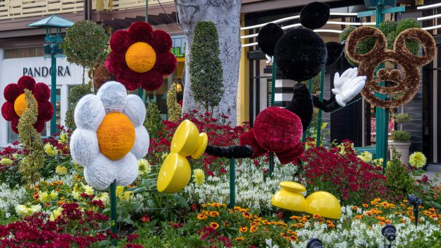 This new Art Installation Celebrates Mickey Mouse and Pals in Downtown Disney District