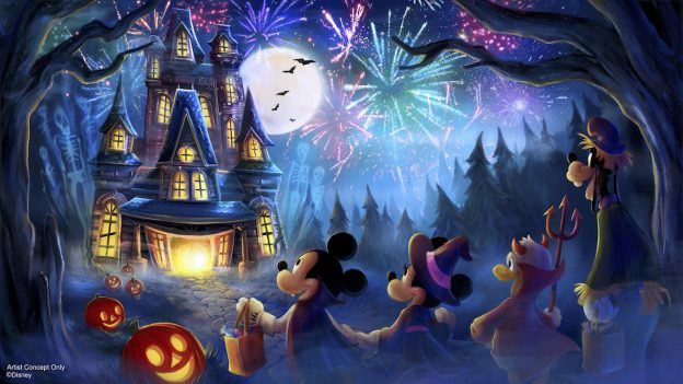 New Fireworks Show for Mickey's Not-So-Scary Halloween Party