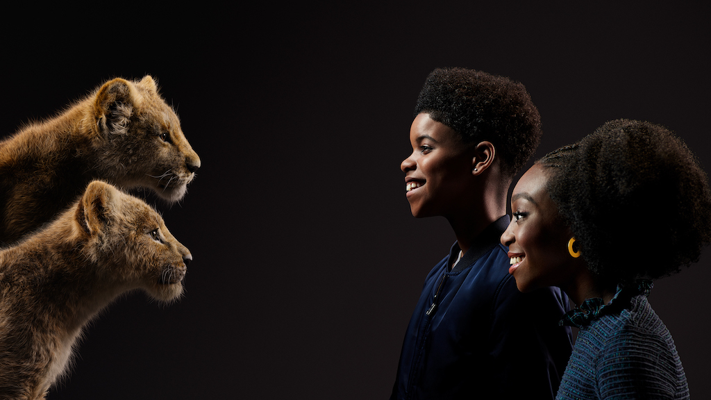 new images of  u0026quot the lion king u0026quot  cast with their characters