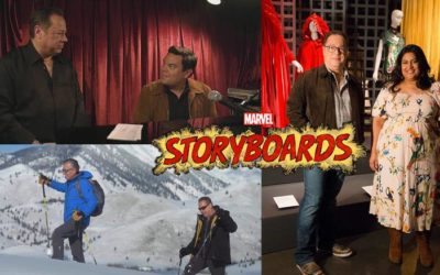 "Original Series ""Marvel's Storyboards"" Coming to Disney+"