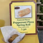 Quick Bites Review – Adventureland Spring Roll Cart (Pepperoni Pizza Spring Roll and Cheeseburger Spring Roll)