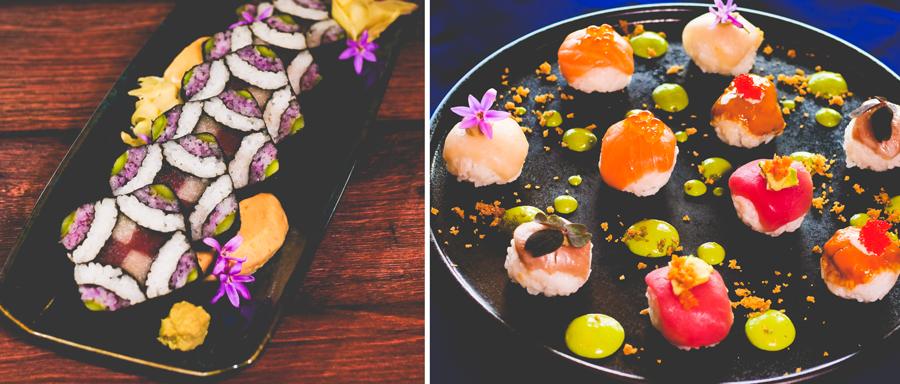 Sushi from Takumi-Tei at Epcot