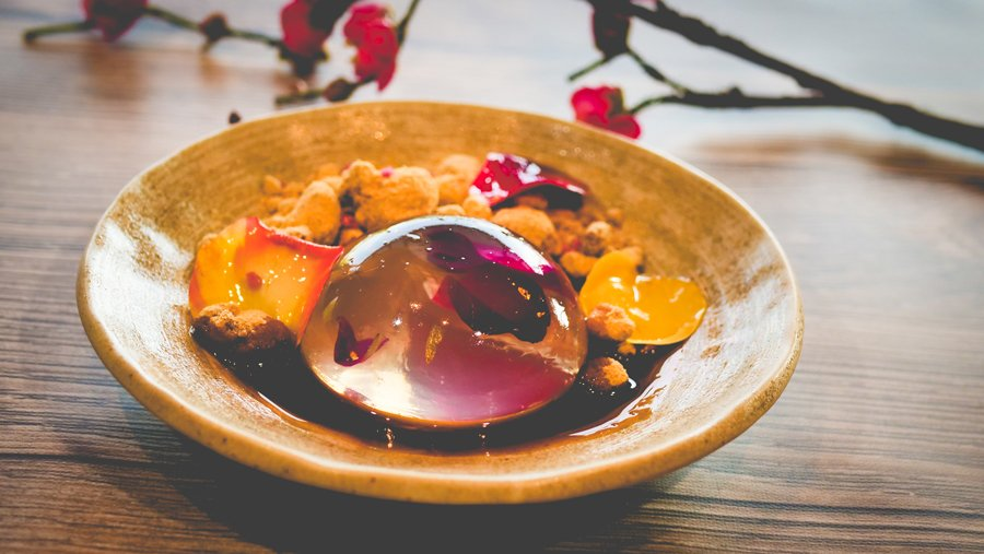 Suiren Dani Dessert from Takumi-Tei at Epco