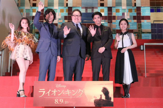 The Lion King Holds Japan Premiere Laughingplace Com
