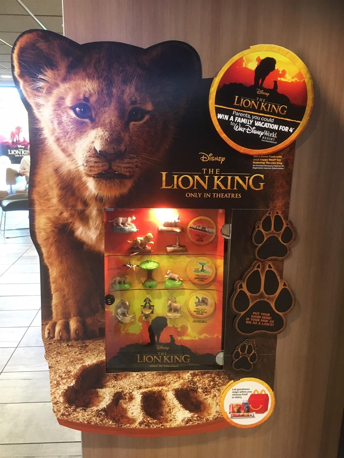 The Lion King Mcdonalds Happy Meal Toys Now Available
