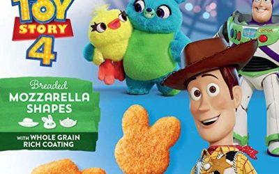 """Toy Story 4"" Breaded Mozzarella Shapes Hit Grocery Store Shelves"