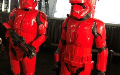"Video: Sith Troopers from ""The Rise of Skywalker"" Debut in Star Wars Booth at San Diego Comic-Con 2019"