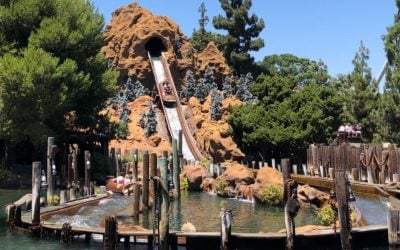 Video: Timber Mountain Log Ride Celebrates 50th Anniversary at Knott's Berry Farm