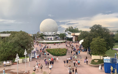 "Epcot Construction Update (AKA ""The Walls of Epcot"")"