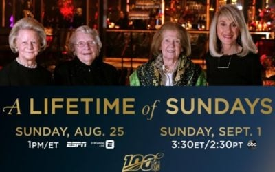 A Lifetime of Sundays Will Debut Sunday, August 25th on ESPN