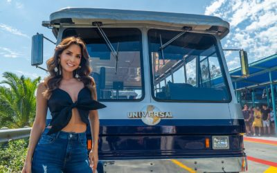Actress Carmen Villalobos is New Video Host for Universal Studios Hollywood's Spanish-Language Studio Tour