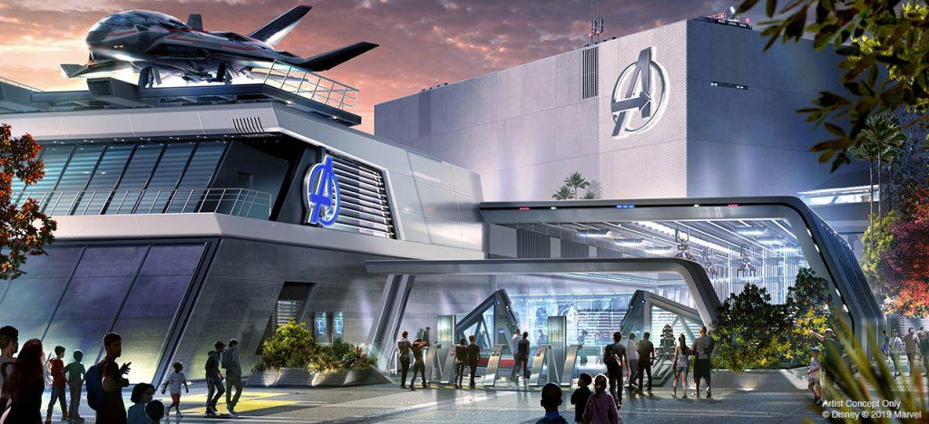Avengers Campus DCA
