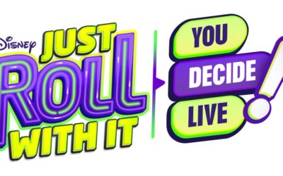 "Disney Channel Announces Halloween-Themed Broadcast, ""Just Roll With It; You Decide LIVE!"""