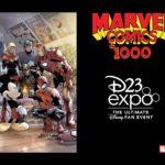 """D23 Reveals """"Marvel Comics #1000"""" D23 Expo Variant Cover"""