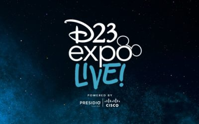 D23 to Livestream Select Panels from Upcoming D23 Expo 2019