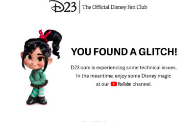 "D23 Website Suffering a ""Glitch"" After Special Disney+ Offer Goes Live"