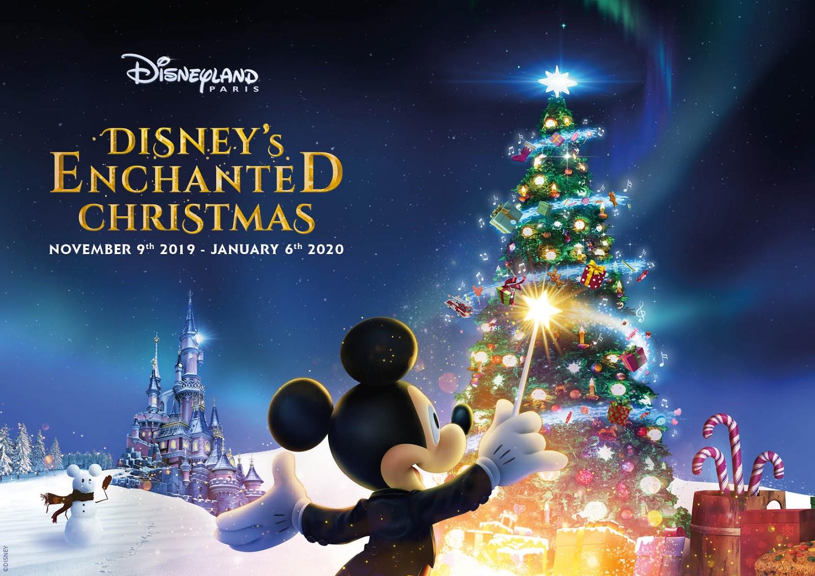 Christmas 2020.Disneyland Paris Announces Dates For Disney S Enchanted