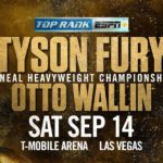 ESPN, ESPN+ to be Exclusive U.S. Broadcaster of Fury-Wallin Boxing Match