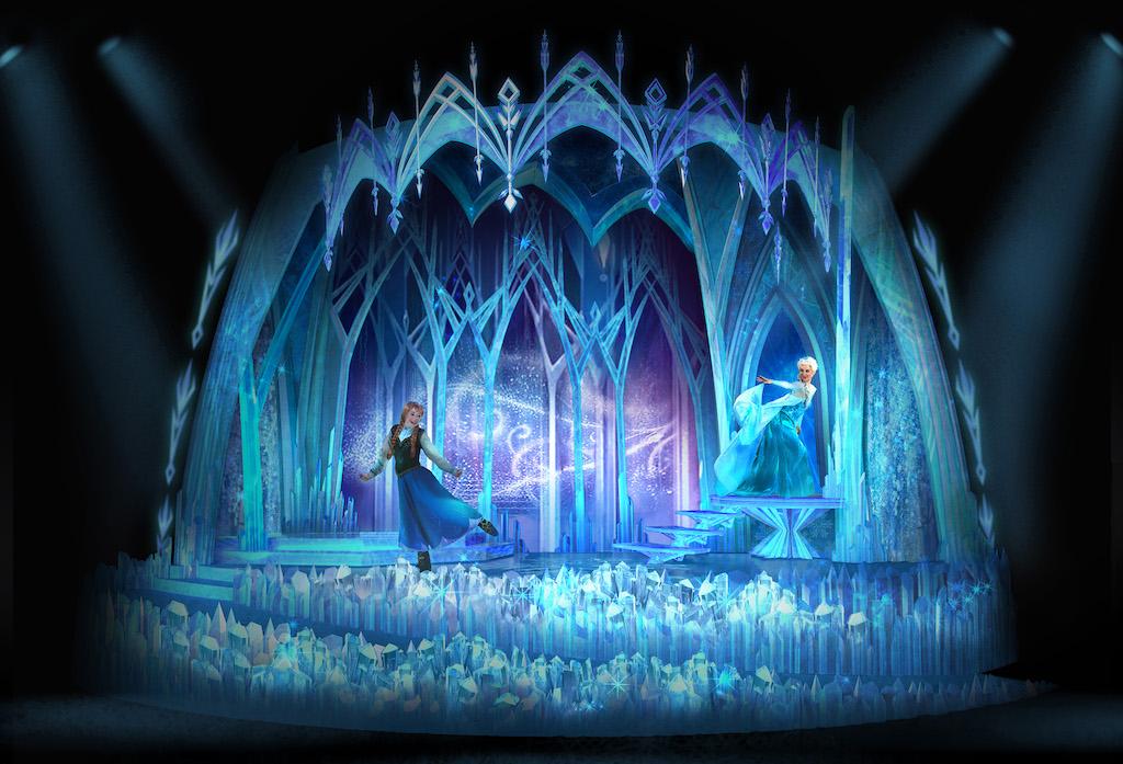 Frozen-Themed Animation Celebration at Disneyland Paris